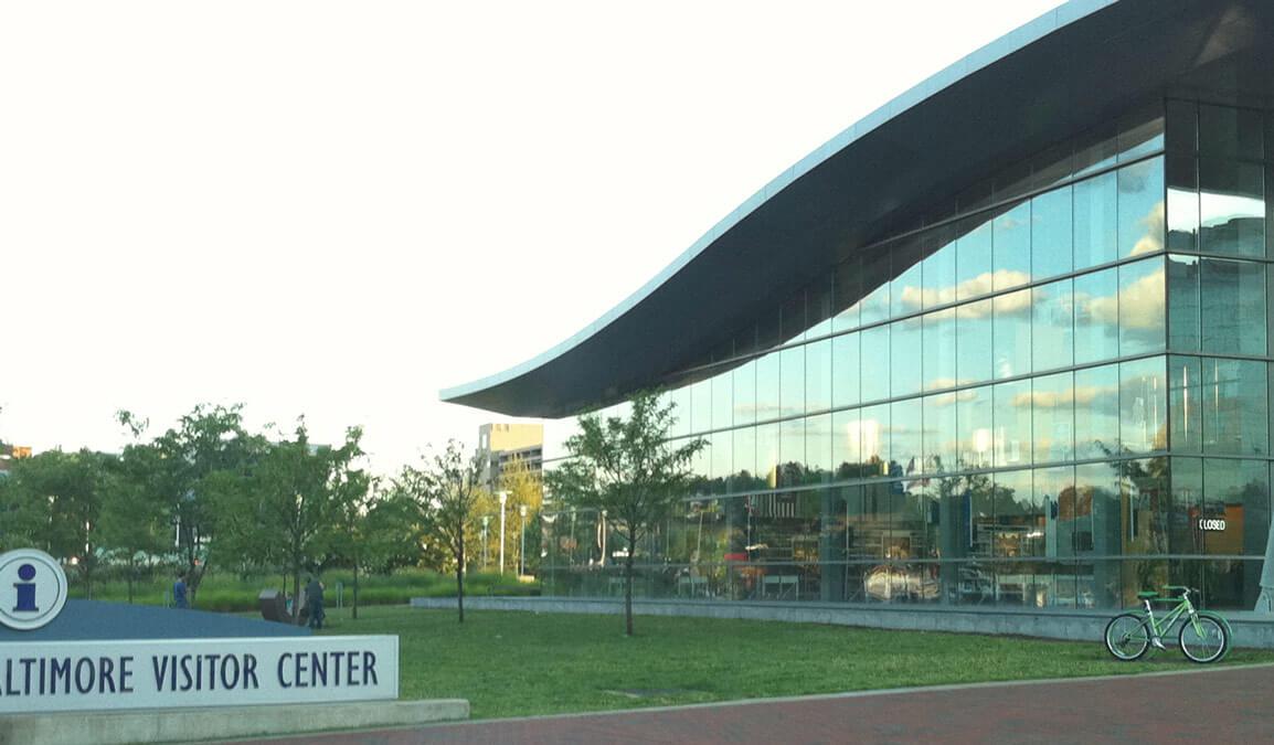 visitors center facade